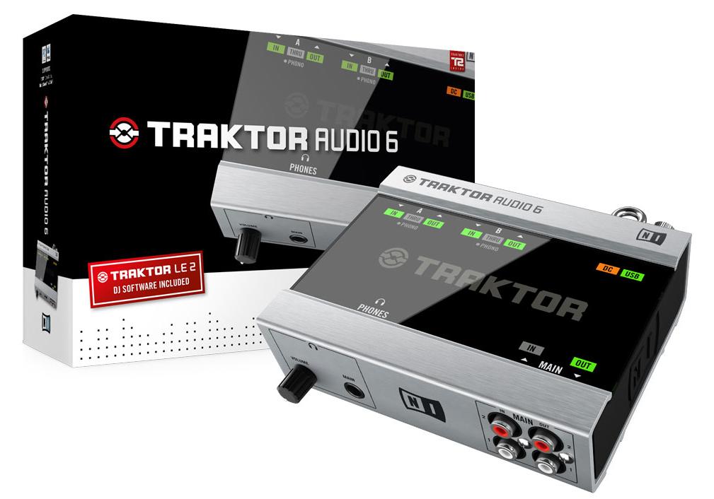Interface audio dj Native instruments Traktor Scratch A6