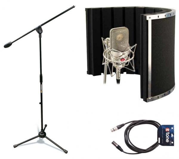pack neumann tlm49 panneau acoustique pied micro c ble star 39 s music. Black Bedroom Furniture Sets. Home Design Ideas