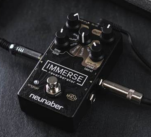 Pédale reverb / delay / echo Neunaber technology Immerse Reverberator MK II