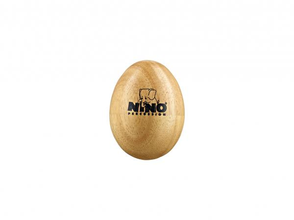 Percussions à secouer Nino percussion                Nino 563 Wood Egg Shaker medium