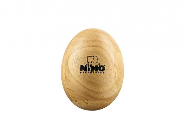 Percussions à secouer Nino percussion                Nino 564 Wood Egg Shaker large