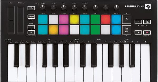 Clavier maître Novation Launchkey Mini MK3
