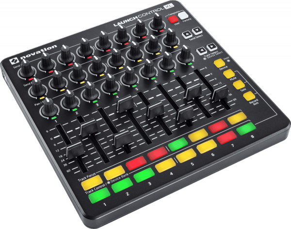 Contrôleur midi Novation Launch Control XL Black