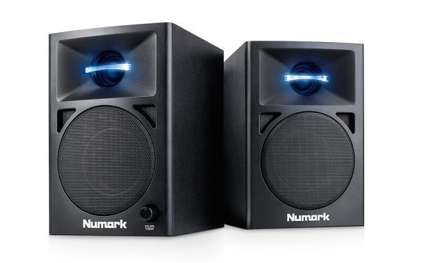 enceinte monitoring active numark n wave 360 la paire star 39 s music. Black Bedroom Furniture Sets. Home Design Ideas