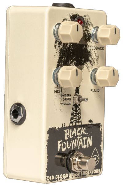 Pédale reverb / delay / echo Old blood noise Black Fountain Delay