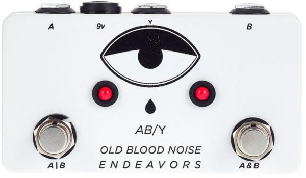 Footswitch & commande divers Old blood noise OBNE AB/Y Switcher