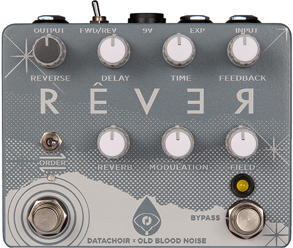 Pédale reverb / delay / echo Old blood noise Rever Reverb