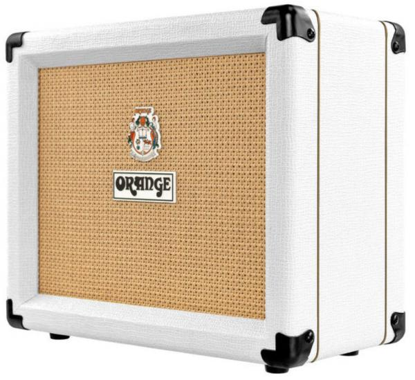 Combo ampli guitare électrique Orange Crush 20 Ltd - White