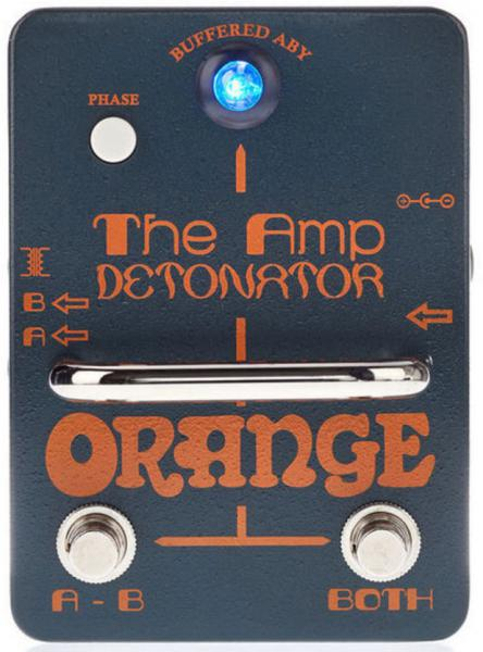 Footswitch & commande divers Orange The Amp Detonator Buffered ABY Switcher