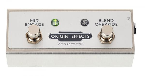 Footswitch & commande divers Origin effects Footswitch Revival Drive