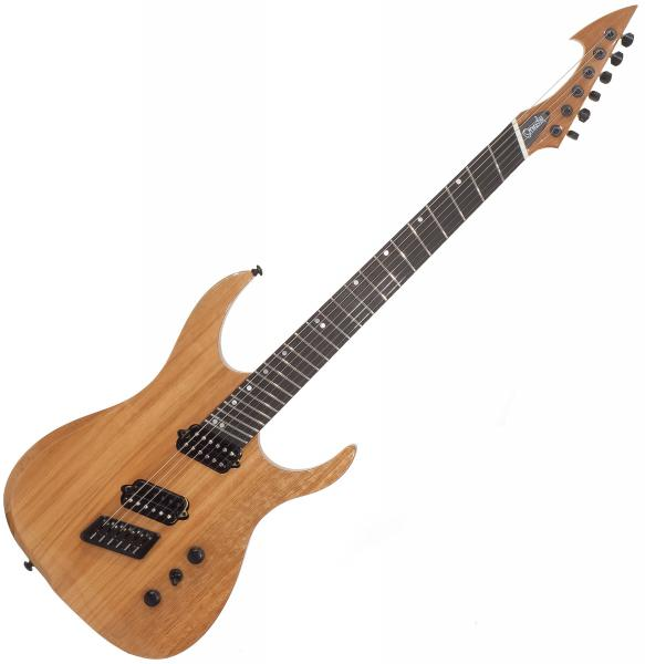Guitare électrique multi-scale Ormsby Hype GTR 6 Mahogany - Natural