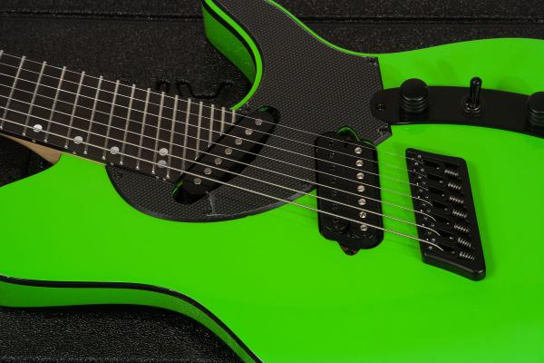 Guitare électrique multi-scale Ormsby TX GTR 7 - chernobyl green