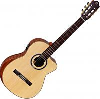 Guitare classique format 4/4 Ortega Striped Suite C/E Private Room +bag - Natural