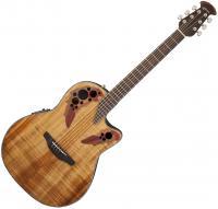 Guitare folk Ovation CE44P-FKOA Celebrity Elite Plus - Natural gloss