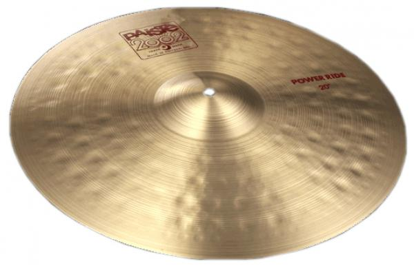 Cymbale ride Paiste 2002 Power Ride 20 - 20 pouces