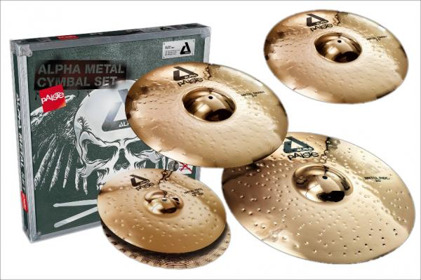 Pack cymbales Paiste Alpha Brillant Universal Set 14/16/18/20