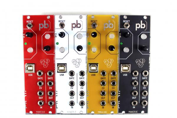 Expandeur Patchblocks Eurorack White