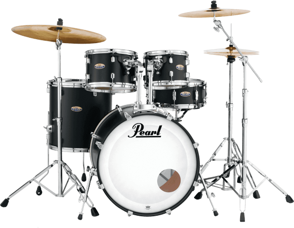 Batterie acoustique fusion Pearl DMP925SC-227 Decade Maple Rock 22 - 5 fûts - Satin slate black
