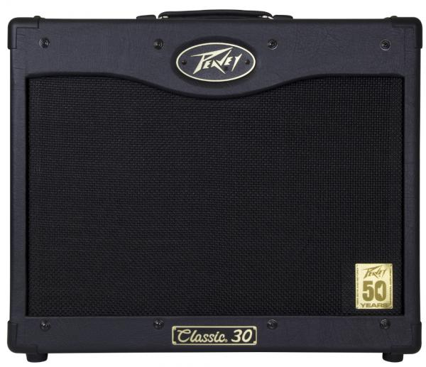 Combo ampli guitare électrique Peavey Classic 30 50th Anniversary - Black