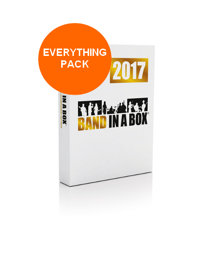 image Band In A Box Everything Pack 2017 MAC