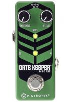Pédale compression / sustain / noise gate  Pigtronix Gatekeeper Micro