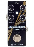 Pédale compression / sustain / noise gate  Pigtronix Philosopher's Tone Micro