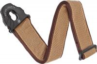 Courroie sangle Planet waves 50PLB06 Lock Woven Polypropylene Guitar Strap - Tweed