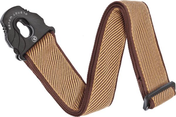 Sangle courroie Planet waves 50PLB06 Lock Woven Polypropylene Guitar Strap - Tweed