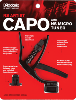 NS Artist Capo with NS Micro Headstock Tuner