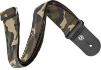 image Rock Woven Guitar Strap Camouflage