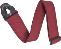 image SPL201 Lock Woven Polypropylene Guitar Strap - Red