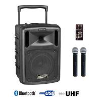 Sono portable Power acoustics BE 9208 UHF ABS