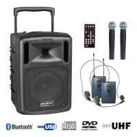Sono portable Power acoustics BE 9610 UHF PT ABS