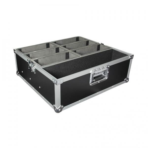 Etui & flight éclairage Power acoustics FlightCase 6 Par Slim
