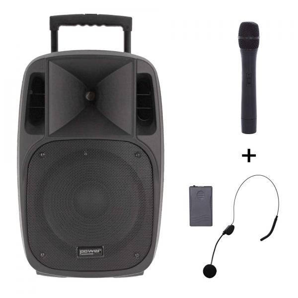 Sono portable Power acoustics Moovy 15 Mk2