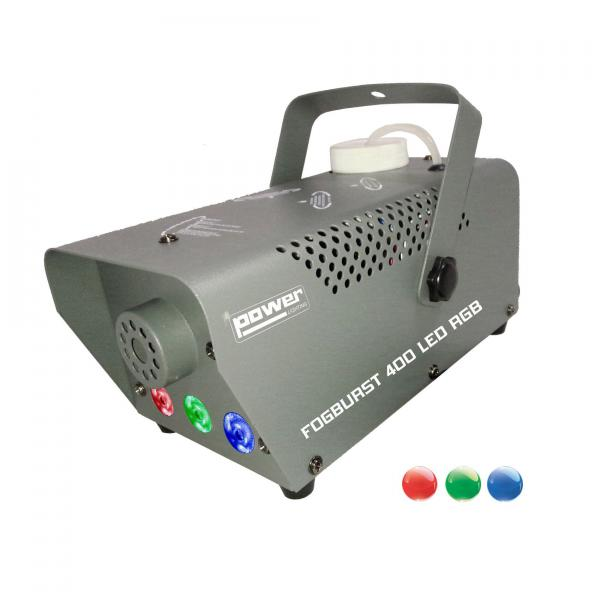 Machine à fumée Power lighting fogburst 400 led rgb