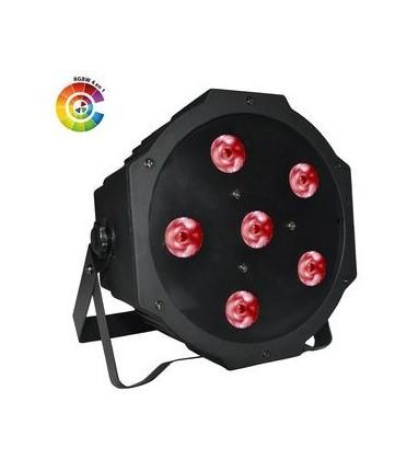 par power lighting slim par 6x4w quad bat star 39 s music. Black Bedroom Furniture Sets. Home Design Ideas