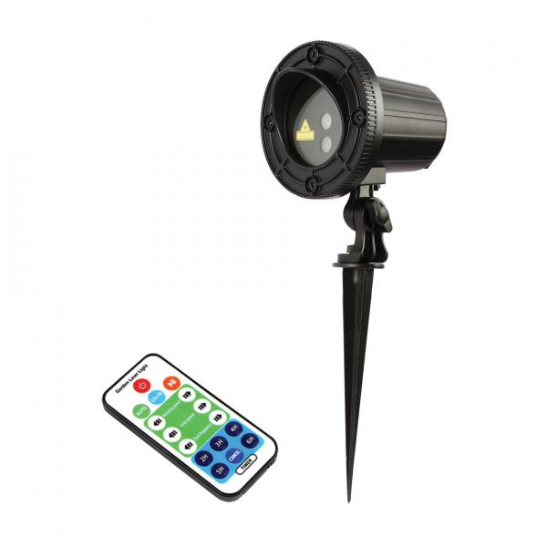 Laser Power lighting Venus Garden IP65 250 RGB - Noir