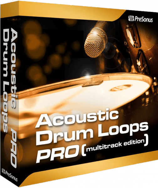 Instrument virtuel Presonus Acoustic Drum Loops Multipistes