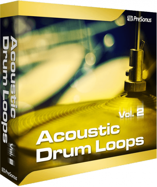 Instrument virtuel Presonus Acoustic Drum Loops Stereo