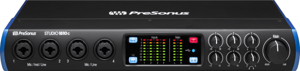 Carte son usb Presonus Studio 1810C