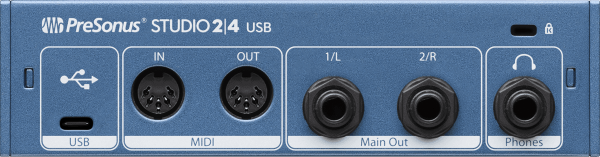 Interface audio Presonus Studio 2/4 USB