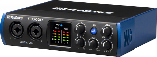 Carte son usb Presonus Studio 24C