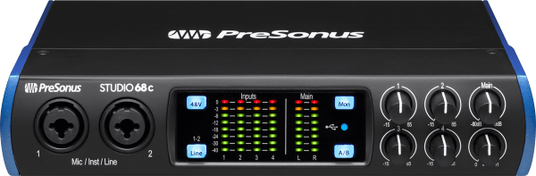 Carte son usb Presonus Studio 68C