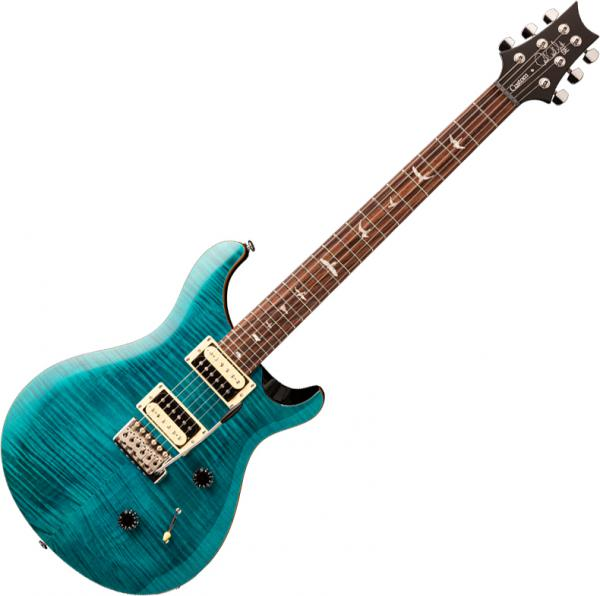Guitare électrique solid body Prs SE Custom 24 - sapphire