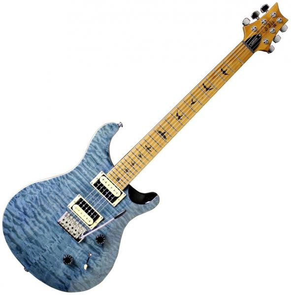 Guitare électrique solid body Prs SE Custom 24 Roasted Maple Limited - whale blue