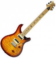 Guitare électrique solid body Prs SE Custom 24 Roasted Maple Neck Ltd - Tobacco sunburst