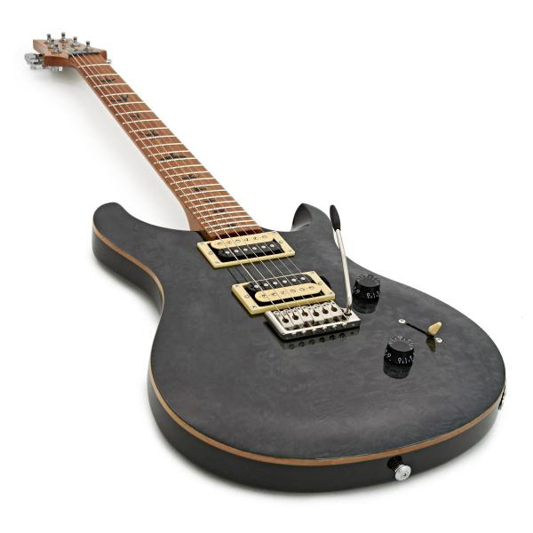Guitare électrique solid body Prs SE Custom 24 Roasted Maple Limited - grey black