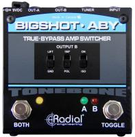 Footswitch & commande divers Radial Tonebone BigShot ABY Amp Switcher V2