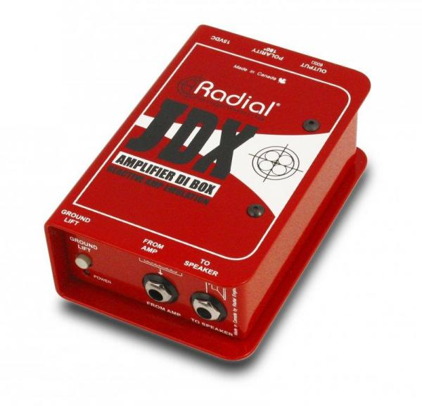 Boitier direct di Radial JDX - Guitar Amp Direct Box